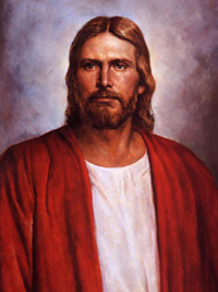 Red Robe Christ